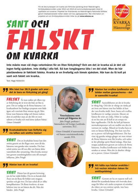 Vet du vad som är sant och falskt om kvarka?