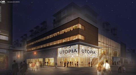 Utopia öppnar plan 2 med nya butiker
