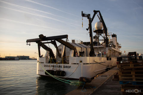 Hi-res image - Inmarsat - Nekton research vessel Pressure Drop in Barcelona