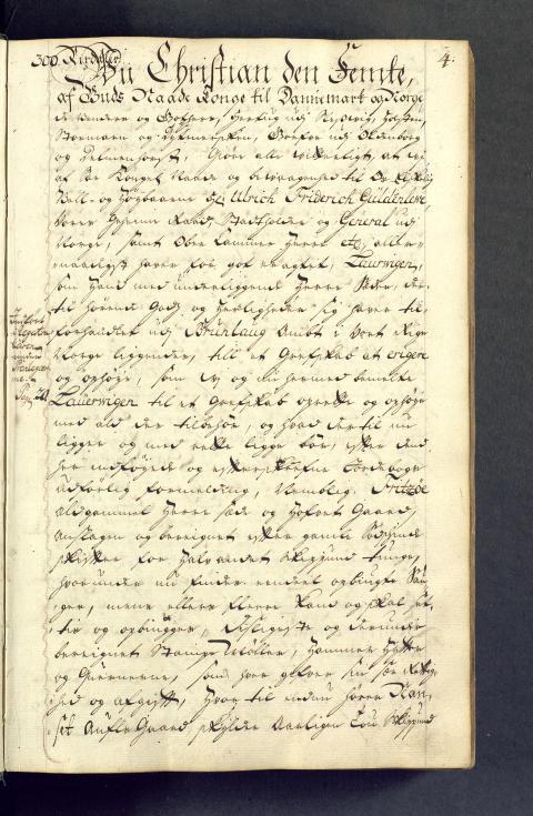 Larvik grevskaps arkiv  1671-1821