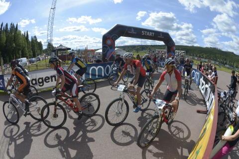 Världspremiär för Cykelvasan Öppet Spår