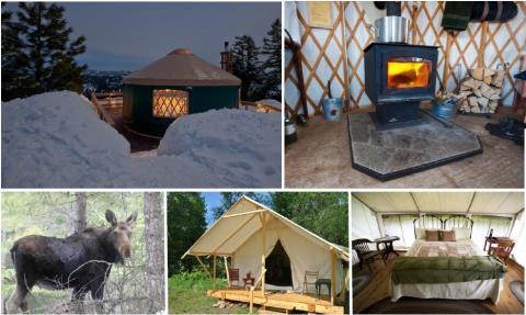 Campen in Idaho - aber bitte mit King Size