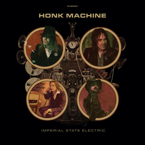 IMPERIAL STATE ELECTRIC - HONK MACHINE i Sound Pollutions I-Pool!