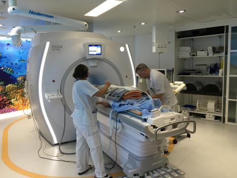 PET-MR-kamera används numera för diagnostik vid kroniska tarmsjukdomar på Akademiska sjukhuset.