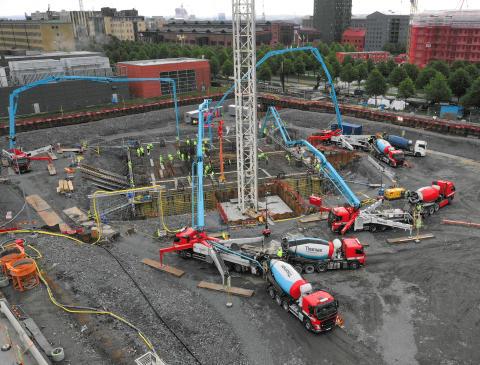 Thomas Concrete Group bidrar till utvecklingen av Göteborg