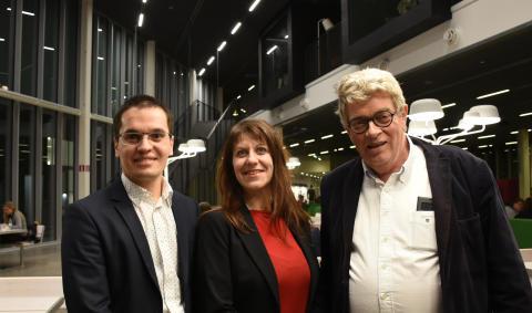 Mevludin Memedi, Isabella Scandurra och Gunnar Klein, Örebro universitet.