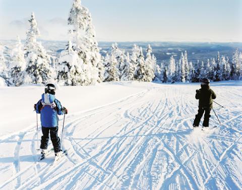Nya skidor hett byte för tjuven