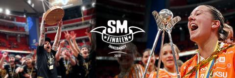 Ackreditera dig till SM-finalen i innebandy 2018