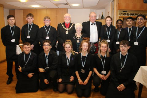 ​Bury College welcomes the Mayor of Bury