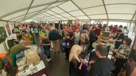 Ballantrae food festival tempts more visitors to Ayrshire