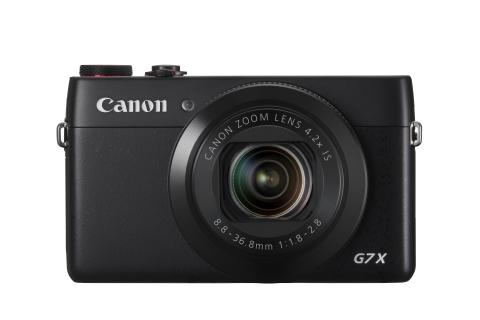 Canon PowerShot G7 X front