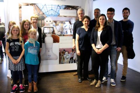 TH Wildau zeigt Anwendungsbeispiele humanoider Roboter in der Potsdamer Wissenschaftsetage