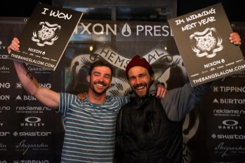 Mathieu Crepel (FR) og Charles Reid (CAN)
