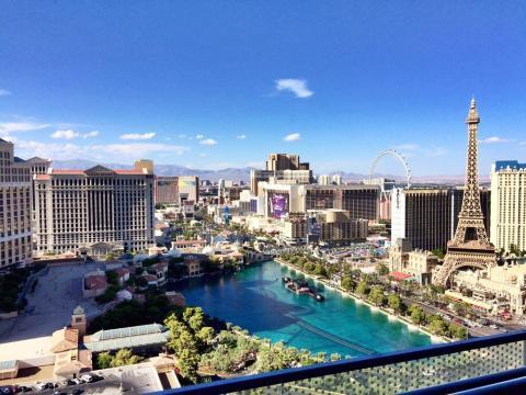 KLM flies to Las Vegas
