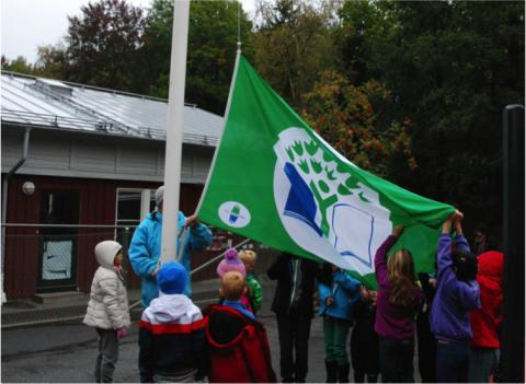 Vittra Rösjötorp får Grön Flagg