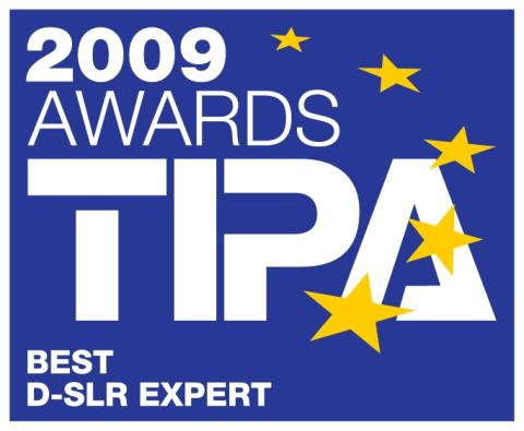 TIPA Awards 2009 Best D-SLR Expert EOS 5D Mark II