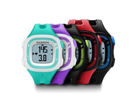 Spring av hela ditt hjärta: Garmin® Forerunner® 15 med puls- och aktivitetsmätning