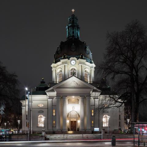 Ombyggnationen av Gustaf Vasa kyrka nominerat till Årets Bygge