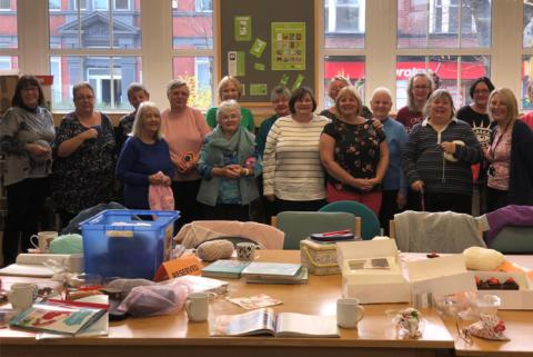Join our new 'Hooked on Crochet' group at Radcliffe Library