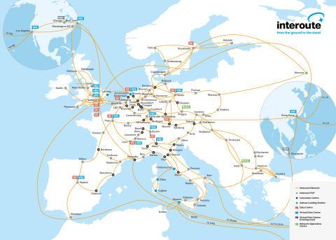 Interoute åbner netværksforbindelse mellem Hong Kong & Los Angeles