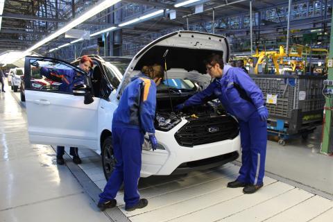 Ford startet Produktion des neuen Ford EcoSport in Rumänien − wachsende Kundennachfrage in Europa