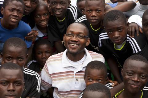 Kimmie Weeks, Liberia. World's Children's Prize Barnrättshjälte