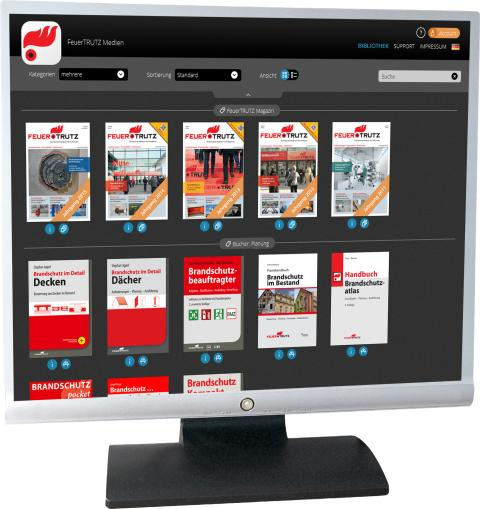 FeuerTRUTZ Medien App am PC