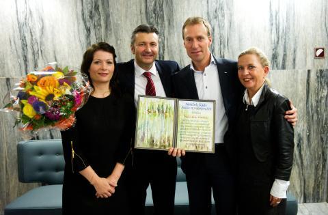 Scandic vinner Nordisk Råds Natur- og Miljøpris 2011
