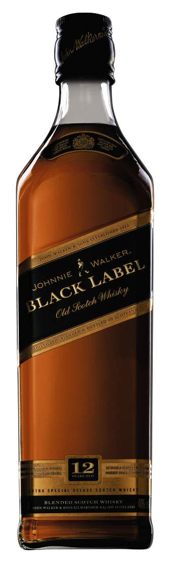 JOHNNIE WALKER® BLACK LABEL, 70 cl 40,0 Vol %