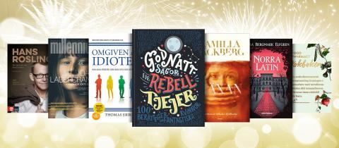 Bokåret 2017 – de är årets mest sålda böcker!
