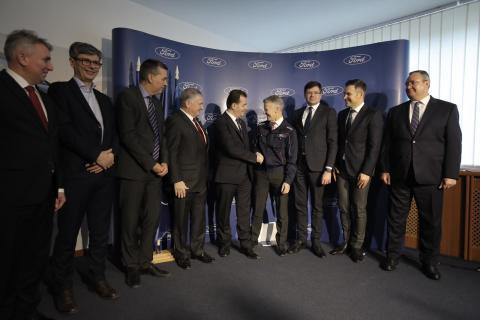 Vizita Premier Ludovic Orban@Ford Craiova 8