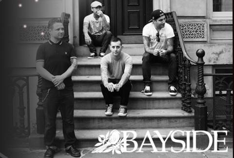 Amerikanska BAYSIDE som support till Alkaline Trio!