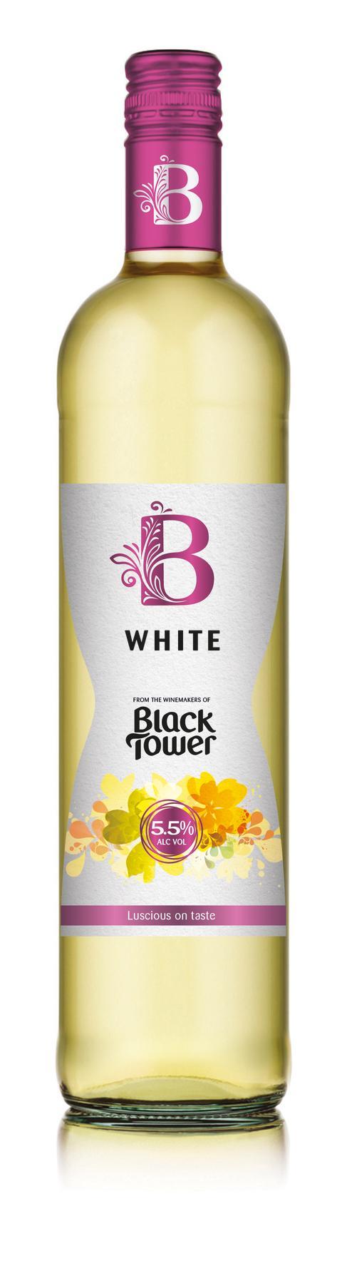 B som i blommigt ungdomlig,  B som i B by Black Tower
