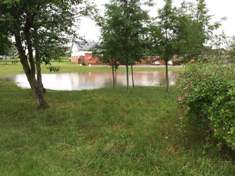 NSVAs utredning om dagvattensystem är klar angående delar av gamla Hyllinge och delar av Nyvång i Åstorps kommun