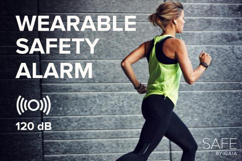 Känn dig trygg på promenaden med Safe Överfallslarm