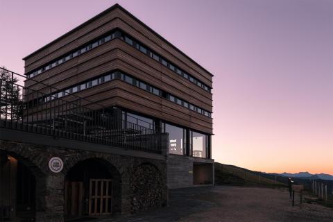 Capanna Monte Bar Sonnenaufgang