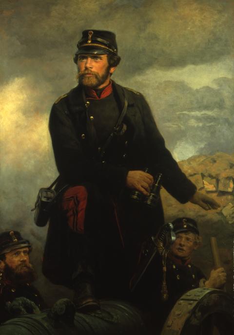 """C.V. Castenschiold - fra """"Mennesker i krigen - 1864"""""""