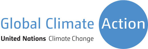 Logotyp Global Climate Action