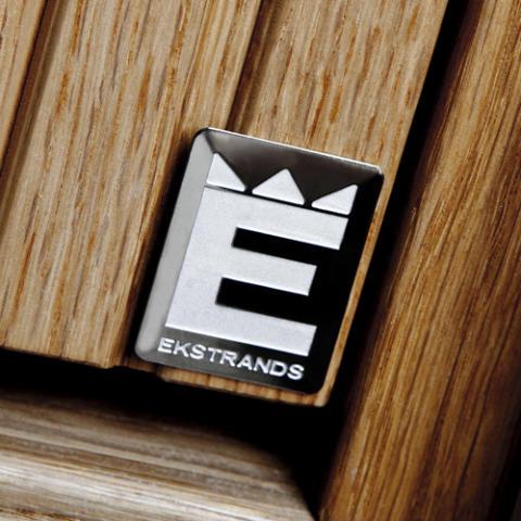 Detaljbild Ekstrands märke