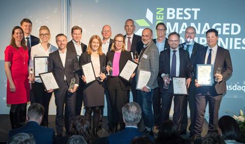 Tolv företag utses till 2019 Sweden's Best Managed Companies