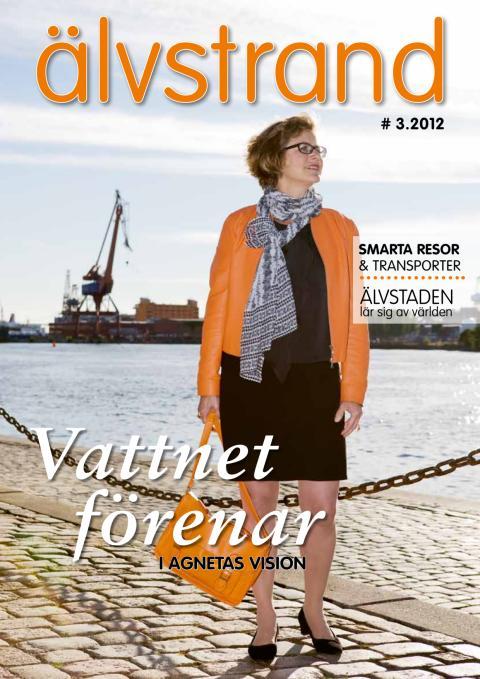 Älvstrand nr 3 2012 - Vattnet förenar i Agnetas vision