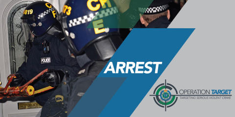 Arrest by Op. Target officers