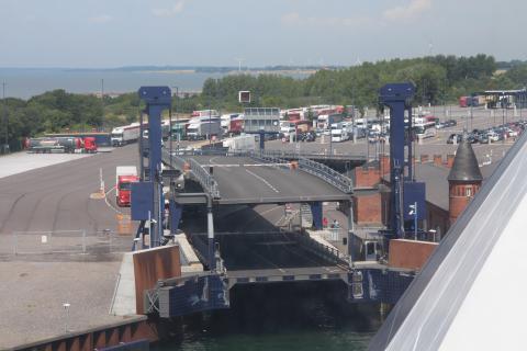 Gedser Hafen