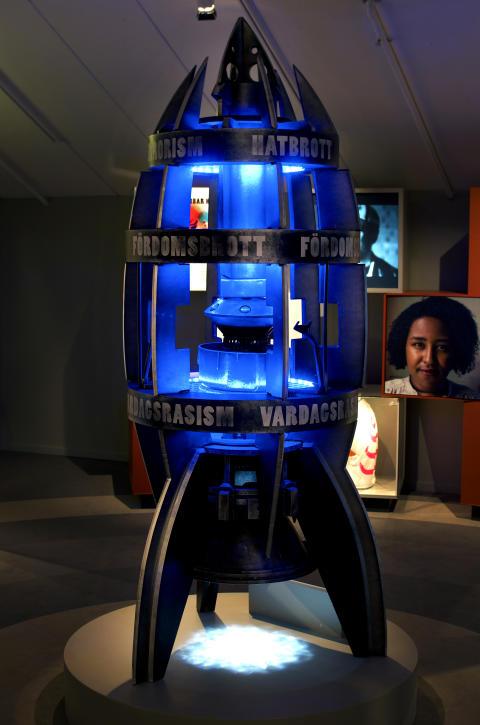 Raketen - VI & DOM - en utställning om hatbrott