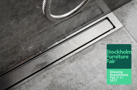 unidrain® by JAFO på plats på årets designfest: Stockholm Furniture and Light Fair 2017