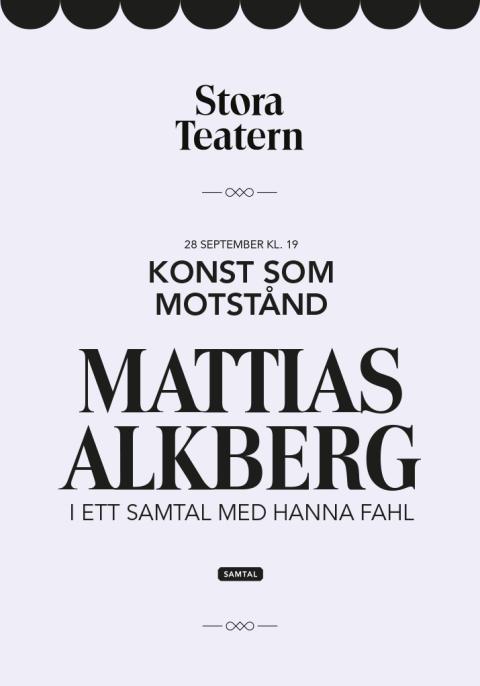 Affisch exempel Stora Teatern