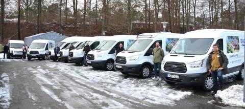 Serviceorganisationen växer!