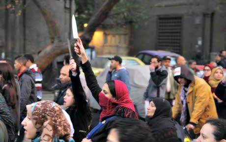 Politisk taktik bakom våldtäkterna i Kairo