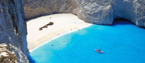 Zakynthos, populäraste resmålet för 10- och 11-dagarsresor 2010