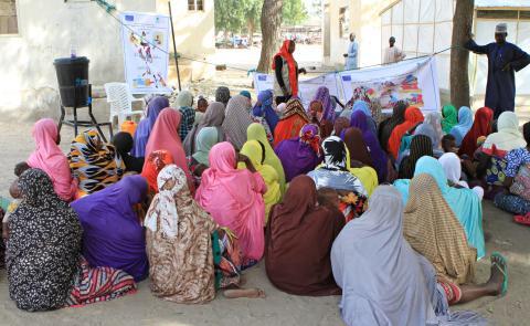 Lake Chad crisis - Hygiene promotion